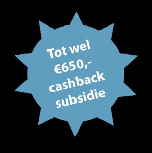 sticker subsidie warmtepompboiler